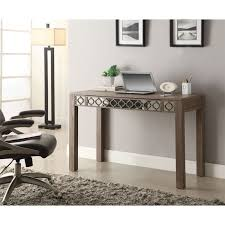 mirrored office furniture. Desk Enchanting Mirrored Office Target Wooden Vas Plant Laptop Clock Chair Furniture