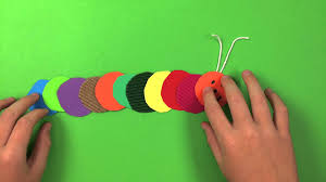 Art For Kids How To Make A Caterpillar Simple Preschool Arts And Crafts For