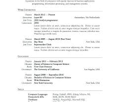 Latex Resume Templates Fascinating Latex Resume Templates Template Download Basic For High School