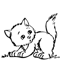 Small Picture Trend Cute Cat Coloring Pages Best Coloring Bo 5507 Unknown