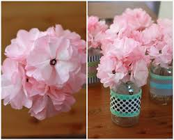 How To Make The Paper Flower How To Make Paper Flowers One Lovely Life
