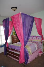 Homemade Bed Canopy Cheap And Easy Canopy I Made This One Out Of 1 Inch Pvc Pipes 7
