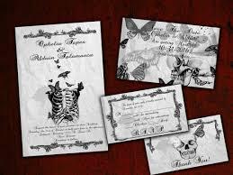 Halloween Wedding Invitations Spooktacular Halloween Wedding Invitations Crafts Pinterest