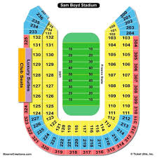 Usafa Falcon Stadium Seating Chart Air Force Academy Stadium