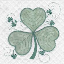 Skeldale House, ITH Applique' Quilt Blocks and Designs Shamrock 10 ... & Quilt blocks Adamdwight.com