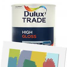 Dulux High Gloss Colour Chart Dulux Trade High Gloss Tinted 1l