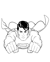Feel free to print and color from the best 35+ superman coloring pages at getcolorings.com. Flying Superman Coloring Picture For Kids