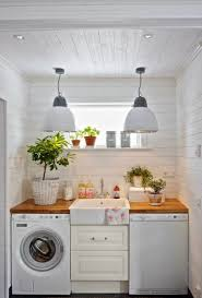 Brilliant small functional laundry room decoration ideas Washing Machine Small But Functional Laundry Space Pinterest Small But Functional Laundry Space Home Makeover Ideas