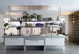 Steel Shelf For Kitchen Lignum Et Lapis Kitchens By Antonio Citterio For Arclinea