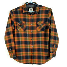 Dakota Grizzly Size Chart Dakota Grizzly Mens Size Xl Plaid Flannel Thermal Lined Snap Button Shirt Jacket