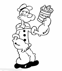 Small Picture Coloring Pages Online Popeye Coloring Pages Popeye Coloring Pages