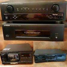 pioneer home stereo system. pioneer home stereo system - cx-4000, m-5000, ct-w4000 pioneer home stereo system r