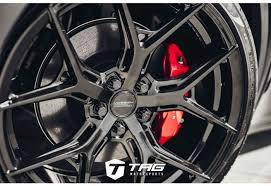 New interior, but a regular steering wheel, no yoke! Vossen Hf 5 21 Wheels For Tesla Model Y