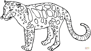 Small Picture Leopard 27 coloring page Free Printable Coloring Pages