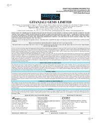 Gitanjali Gems Chart Gitanjali Gems Limited