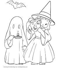 halloween costumes coloring pages halloween costume coloring pages witch and ghost halloween