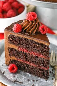 Raspberry Chocolate Layer Cake Chocolate Cake Ganache Recipe
