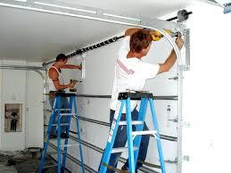 garage door installation diy diy garage door extension spring repair