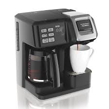 flexbrew 2 way coffee maker with 12 cup carafe pod brewer