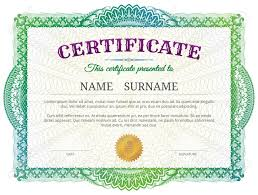 diploma border template certificate template with guilloche elements green diploma border