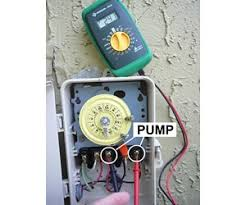 how to wire a pool pump com step 1