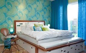bedroom colors. Exellent Bedroom Bedroom Colors Ideas  Blue And Bright Lime Green And Colors V