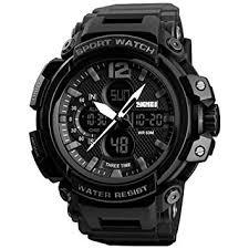 ShiningLove Gifts for <b>SKMEI Men Quartz Digital</b> Watch Dual Time ...