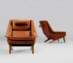 Furniture: Leather Lounge Chair Best Of Set Of Two Danish Reupholstered  Lounge Chairs In Cognac