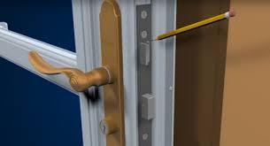 deadbolt on your storm door is stuck