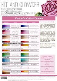 Copic Color Blending Chart Spectrum Noir Color Blends Copic To Spectrum Conversion