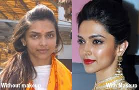 deepika padukone with and without makeup 15 celebrities from bollywood without makeup