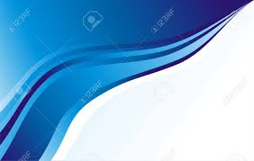 Blue Waves Business Card Background