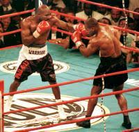 Bite Fight 20 Years On Tyson U0026 Holyfield Have Made Peace  Daily Evander Holyfield Bench Press