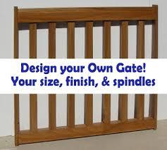 custom pet gates and custom baby gates in all wood