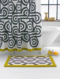 view in gallery patterned jonathan adler shower curtain
