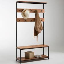 10 Hook Coat Rack Hiba Hall Stand A practical addition to any hallway with a 80