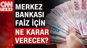 Merkez Bankası faiz kararını bugün açıklayacak - YouTube