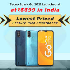 Tecno Spark Go 2021 Launched at Rs 6699 ...