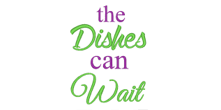 Kitchen Embroidery Design The Dishes Can Wait Funny Kitchen Quotes Embroidery Design Tea Towel Embroidery Designs Kitchen Embroidery