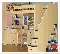 charleston storage loft bed with desk white natural fresh screnshoots