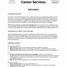 What Does A Resume Include What Do You Put On A Resume Unique What Do You Put A Resume Awesome