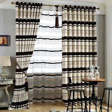 black and brown curtains black brown cream curtains