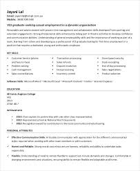 Printable Resume Templates Enchanting Printable Resume Template 28 Free Word PDF Documents Download