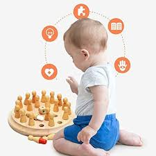 Bath Toys lzndeal Chess Toy,Kids <b>Wooden Memory Match</b> Stick ...