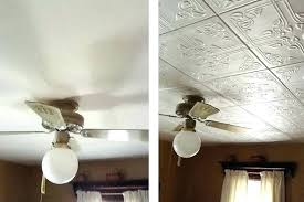 paint for ceiling tiles how to paint popcorn ceiling bedroom with ceiling tile before and after paint for ceiling tiles