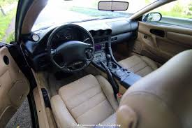 mitsubishi 3000gt vr4 interior. much like the rest of car interior is in likenew condition and looks great tan leather black seats are devoid any weathering mitsubishi 3000gt vr4