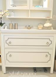 ikea hemnes vanity hack using overlaysthere are so many variations bathroomikea office furniture beautiful images
