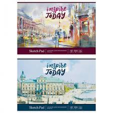 <b>Спейс</b> Альбом для <b>рисования</b> Акварель Город 40 листов ...