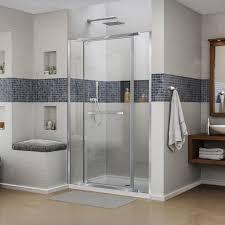 dreamline vitreo x 58 58 75 frameless pivot shower door contemporary shower doors by dreamline