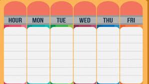 Schedule Forms Printable 27 Printable Schedule Templates Free Premium Templates